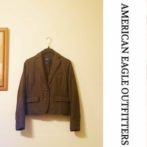 🌸AEO Brown Wool Blazer